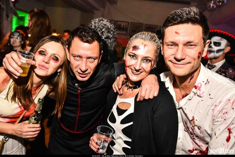 Die größte Halloween-Party @ Krefelder Rennbahn