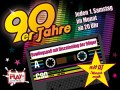 90er Jahre Discobowling