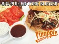 BIG PULLED PORK BURGER