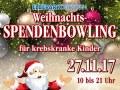 Weihnachts-Spendenbowling