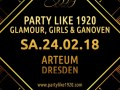 Glamour, Girls  Ganoven - Die 20er Jahre Party