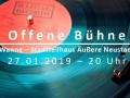 Offene Bühne Dresden im Januar 2019