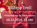 """""""Bühne frei!"""" im Dezember 2019"""