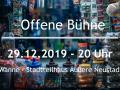 Offene Bühne Dresden im Dezember 2019