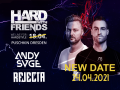 Hard with Friends presents Rejecta and Andy Svge