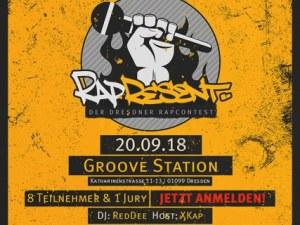 Rapresent - Der Dresdner Rap-Contest am Do, 20  September