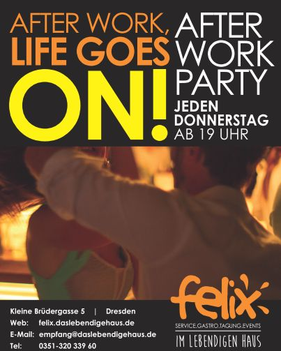 After Work Party am Do, 14. Dezember 2017