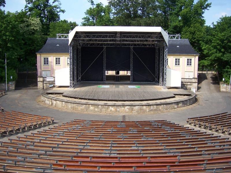 Junge Garde - Freilichtbühne in Dresden | Essen, Trinken ...