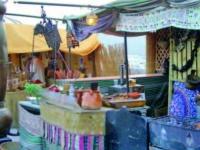 Hippiemarkt/Mercadillos hippy/Hippie market - Punta Arabi