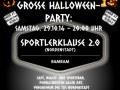 Halloween-Party Sportlerklause 2.0 !
