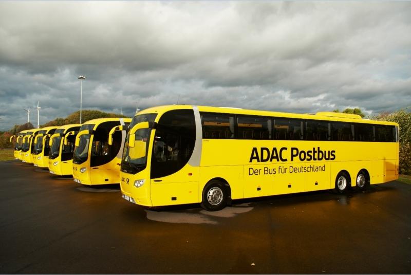 adac postbus im bundesweiten linienverkehr start auf f nf strecken dortmund inklusive. Black Bedroom Furniture Sets. Home Design Ideas