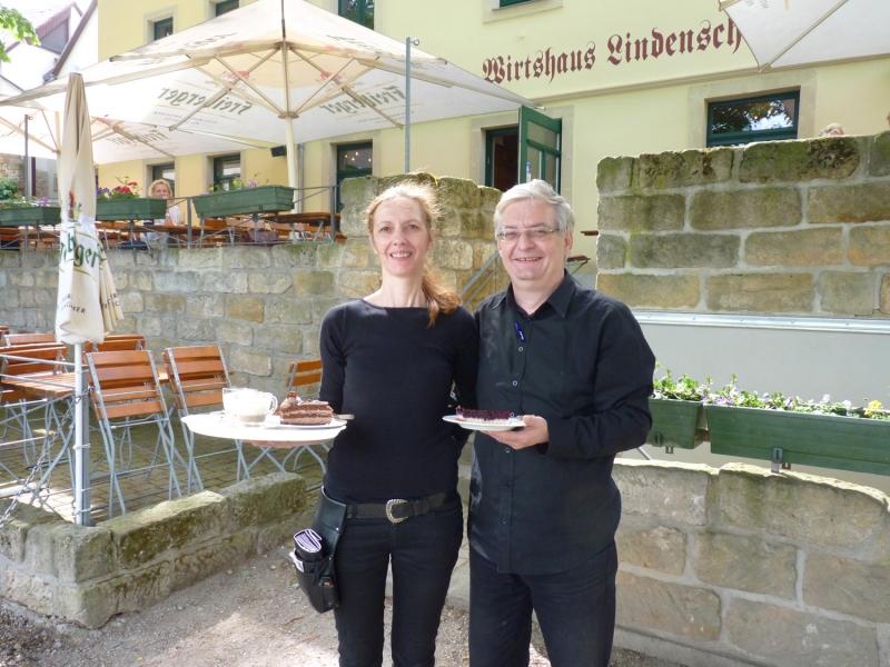 Dresdner Wirtshaus Lindenschänke nach Flutschädenbeseitigung wieder ...