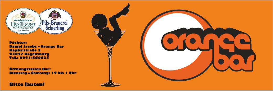 Bildergebnis für orange bar regensburg