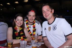 Mittwoch, 27.06.2018 WM-Spiel Deutschland-Korea Eishalle Neuss