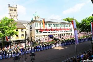 Schützenfest Parade RFH...Markt 2018