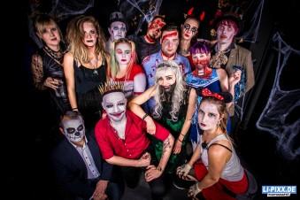 Ball Bizarr 2018 - Halloween Party in Dresden @ Kraftwerk Mitte Fotos