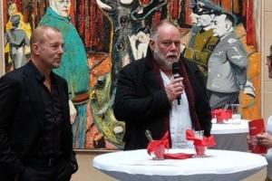 15. DFKF: Vernissage mit Heino Ferch und Künstler Harald Reiner Gratz: \'Hinter den Spiegeln\'
